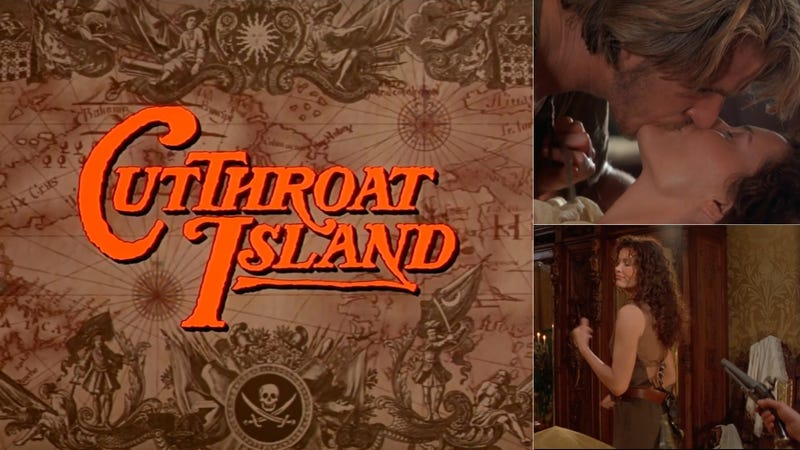 Illustration for article titled Revisiting Cutthroat Island, the Feminist Pirate Movie That Failed