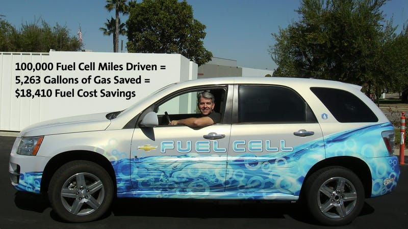 Illustration for article titled Fuel Cell Equinox Tops 100,000 Miles In Real-World Driving