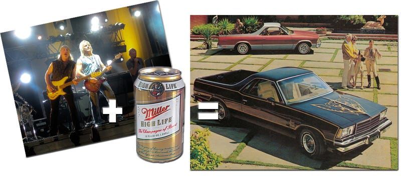 Illustration for article titled Man's Rockin' Fantasy Involves Beer, Potato Salad, And An El Camino