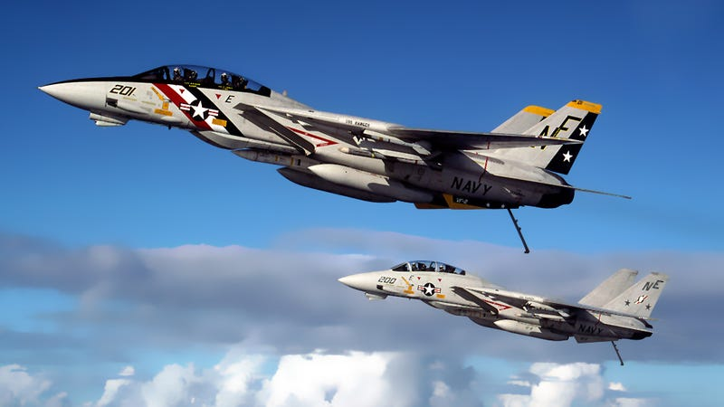 Illustration for article titled This Topgun Instructor Watched The F-14 Go From Tomcat To 'Bombcat'