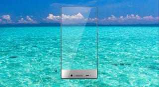 Illustration for article titled Sharp's Gloriously Thin-Bezeled Aquos Smartphone Is Coming to Sprint