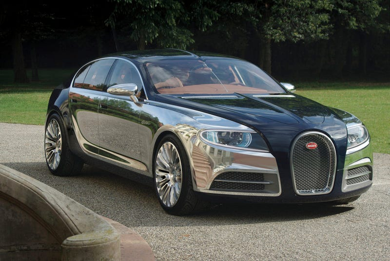 Illustration for article titled Bugatti Galibier: Four-Door Coupe Gets Name, Details, Photos!