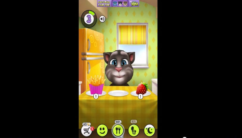 Illustration for article titled Kitten-Themed iPhone App for Kids Featured Ads for NuvaRing