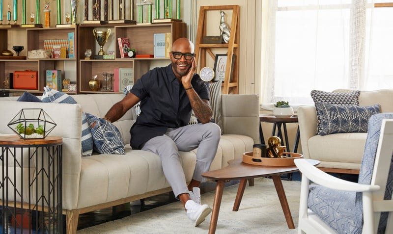 Queer Eye Culture Expert Karamo Brown in FAMU's redesigned student lounge.