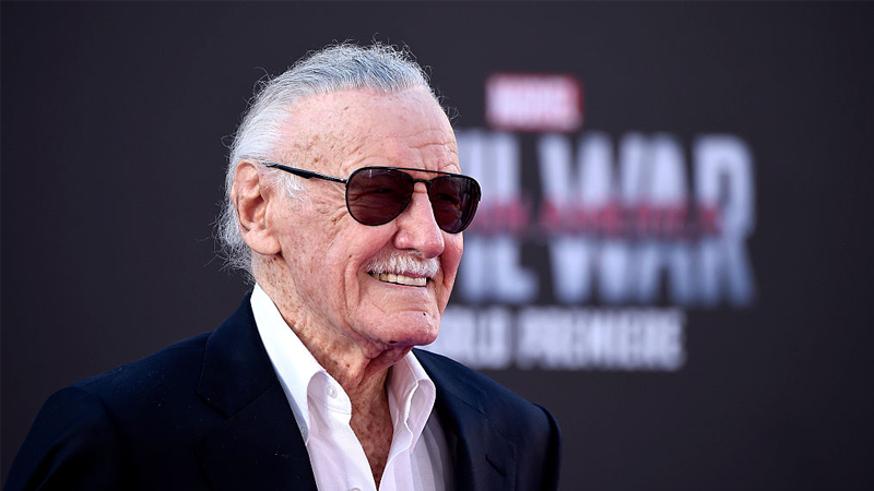 Stan Lee at the world premiere of Captain America: Civil War.