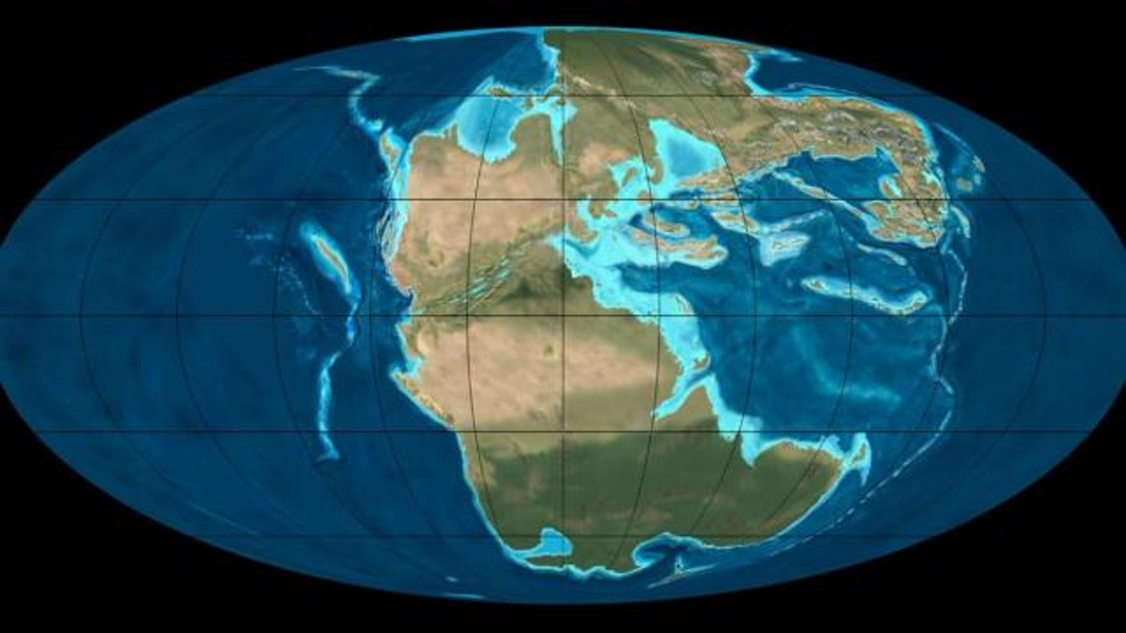 A History Of Supercontinents On Planet Earth Image Diagram Showing The Interior Please Have