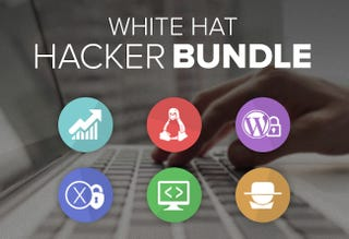 Illustration for article titled Get 90% Off The White Hat Hacker Bundle – 6 Courses for $49