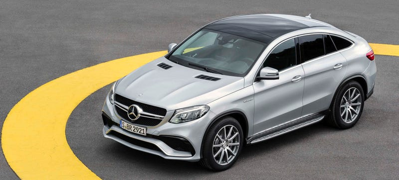 Illustration for article titled 2016 Mercedes-AMG GLE63 S Coupe: Perhaps 577 HP Will Change Your Mind