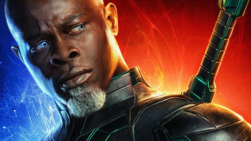 The versatile Djimon Hounsou is joining A Quiet Place Part II.