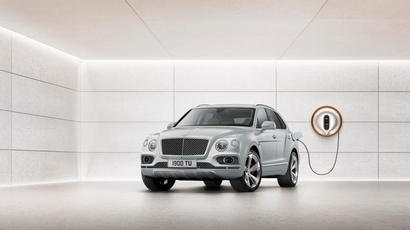 Illustration for article titled The Bentley Bentayga Hybrid Is A Thing Because Future Regulations Said So