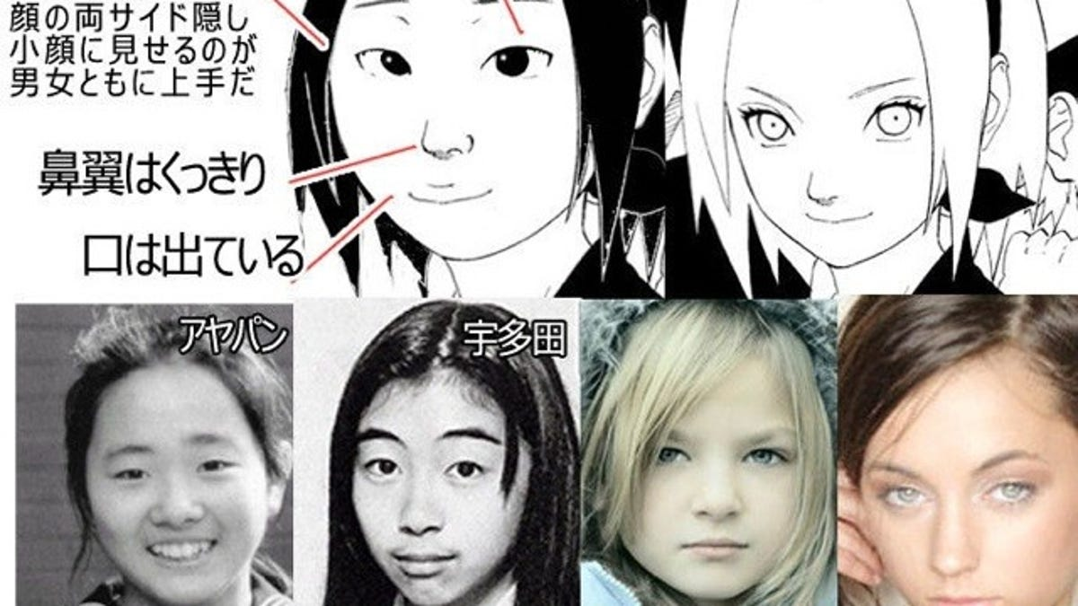 Who's White and Who's Japanese in Anime? Once Again, the