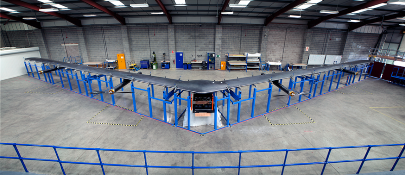 Illustration for article titled Facebook's Internet Drone Looks Like an Angry Boomerang