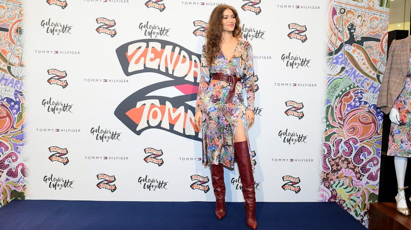 b1ecd49cdf5 Zendaya attends Tommy Hilfiger TOMMYNOW Spring 2019 : TommyXZendaya at The  Galeries Lafayette on March 02