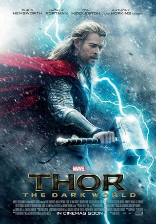 Illustration for article titled Thor:Dark World poster anyone?!