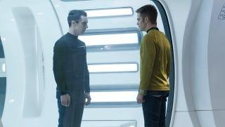 Illustration for article titled Star Trek Into Darkness Super Bowl spot is Enterprise torture porn