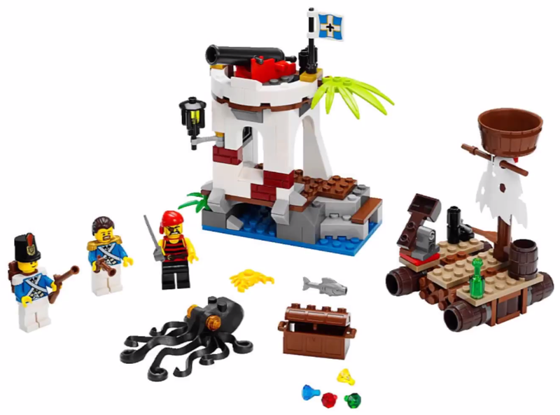Illustration for article titled Avast! Here be the 2015 Lego Pirates sets