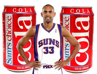 Illustration for article titled Grant Hill Signs Endorsement Deal With Sam's Choice Cola