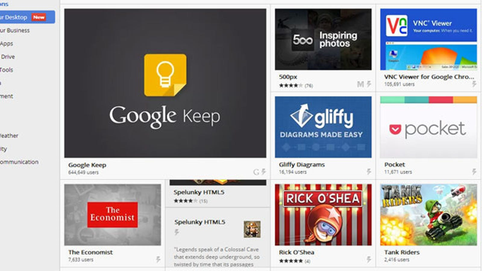 New Chrome Apps Run on Your Desktop, Offline and Outside the