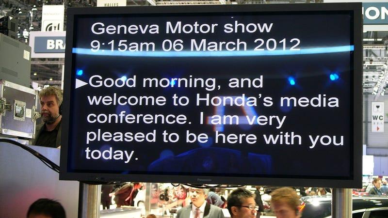 Illustration for article titled The Honda NSX Says Good Morning from Geneva