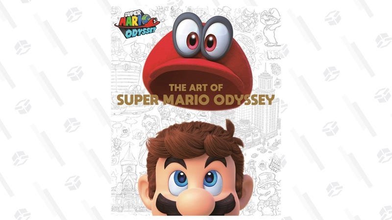 Preorder The Art of Super Mario Odyssey | $38 | Amazon