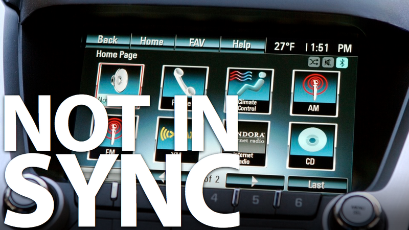 Illustration for article titled GM MyLink is like Ford Sync... Three Years Late