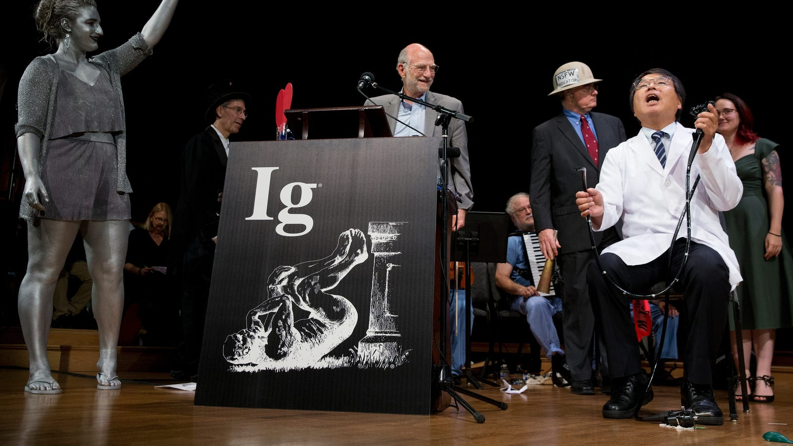 photo image Solo Colonoscopies, Cannibal Calories, and More 2018 Ig Nobel Prize Winners
