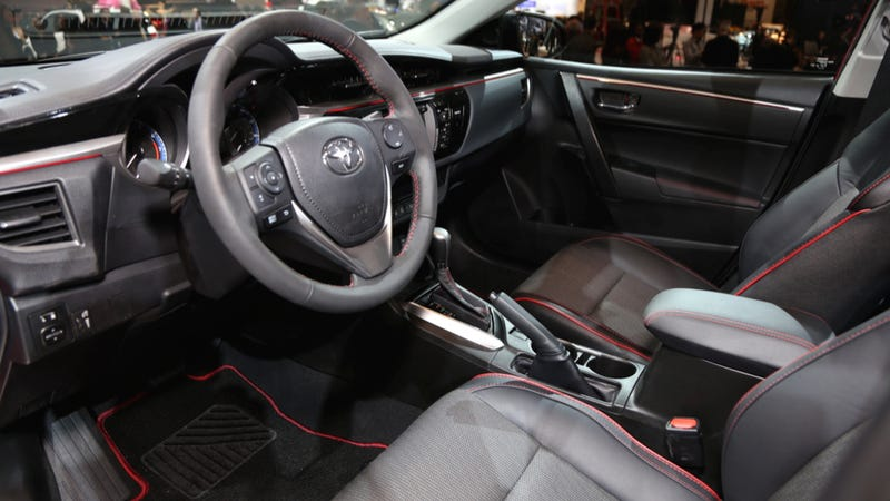 Hey Youths Are You Down With These Color-Stitched Camry Seats Or What?
