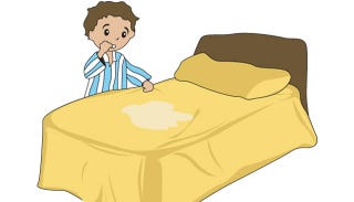 Illustration for article titled Kids May Wet the Bed Because They Can't Poop
