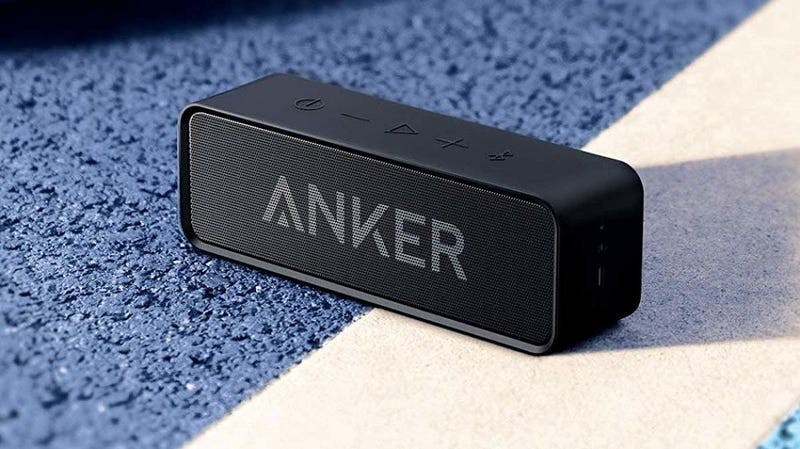 Anker SoundCore Bluetooth Speaker | $21 | Amazon | Clip the coupon and use promo code SDCSPK3102