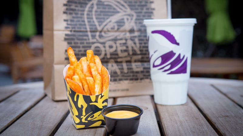 Illustration for article titled Taco Bell announces return of Nacho Fries by giving them away willy-nilly