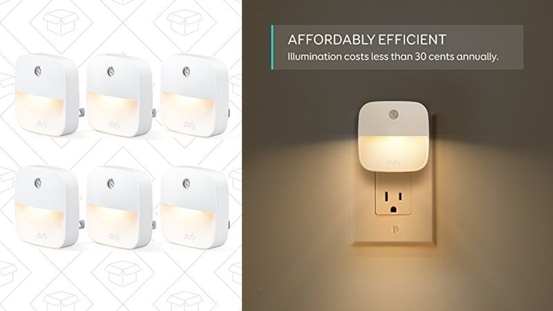 6-Pack Eufy Lumi Plug-In Night Lights | $15 | Amazon