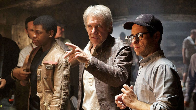 Illustration for article titled Harrison Ford's On-Set Injury Rescued The Force Awakens
