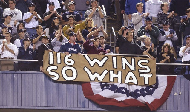 Did 9/11 Cost The Mariners A Championship? (No, Of Course Not.)