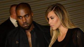 Kanye West and Kim KardashianPIERRE ANDRIEU/AFP/Getty Images