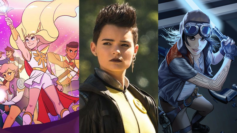 She-Ra, Deadpool 2, and Doctor Aphra are among the fabulous genre highlights of the GLAAD Media Awards this year.