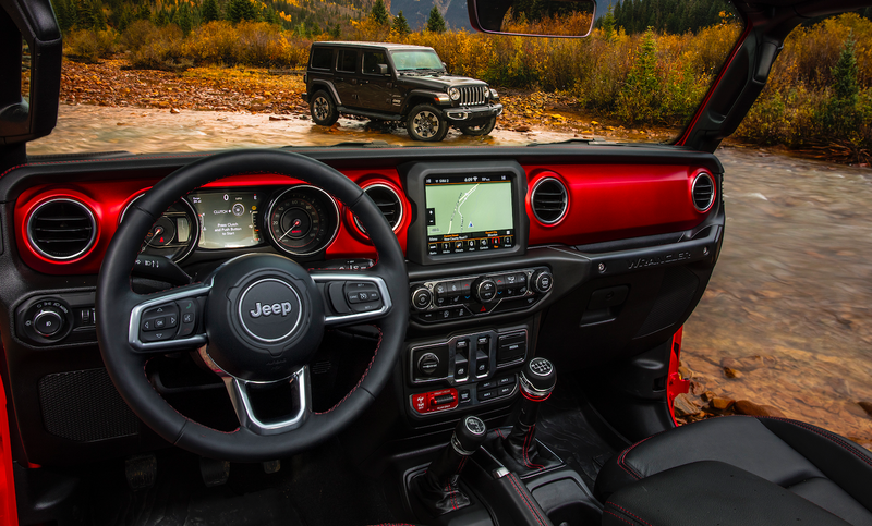 Wrangler Jeep Inside >> Here S How The 2018 Jeep Wrangler S Interior Compares To The Old One