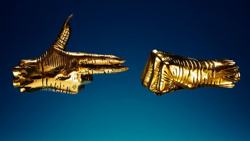 Illustration for article titled On RTJ3, Run The Jewels is here to rip everyone's throats out