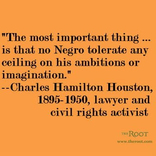Illustration for article titled Quote of the Day: Charles Hamilton Houston