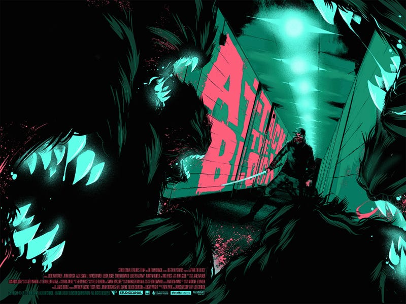 Illustration for article titled It's a Moses vs. Alien Showdown in This Awesome New Attack The Block Poster