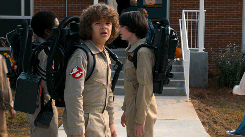 Image Netflix  sc 1 st  io9 - Gizmodo & Stranger Things Had to Ask Permission to Use Ghostbusters Halloween ...