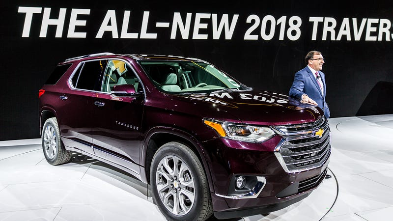 The 2018 Chevrolet Traverse Is Definitely A Car You Can Buy