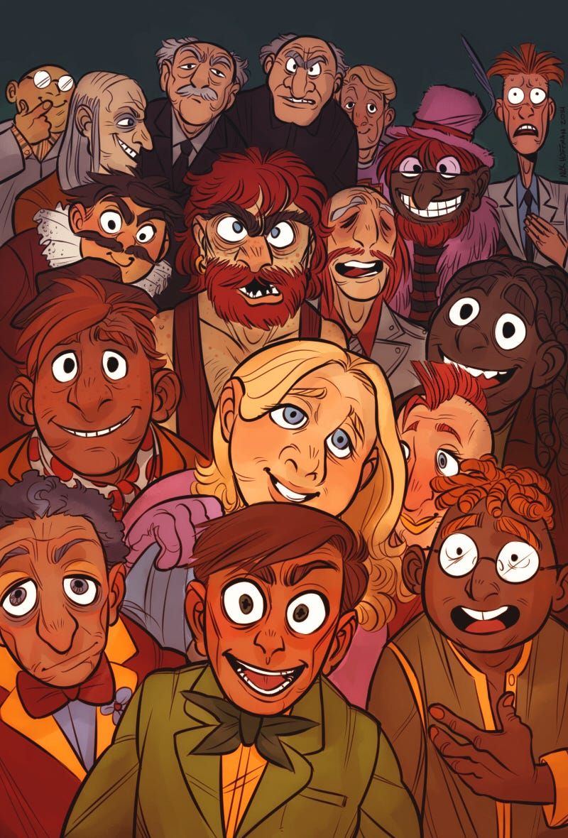 Illustration for article titled What Would The Muppets Look Like As Humans?