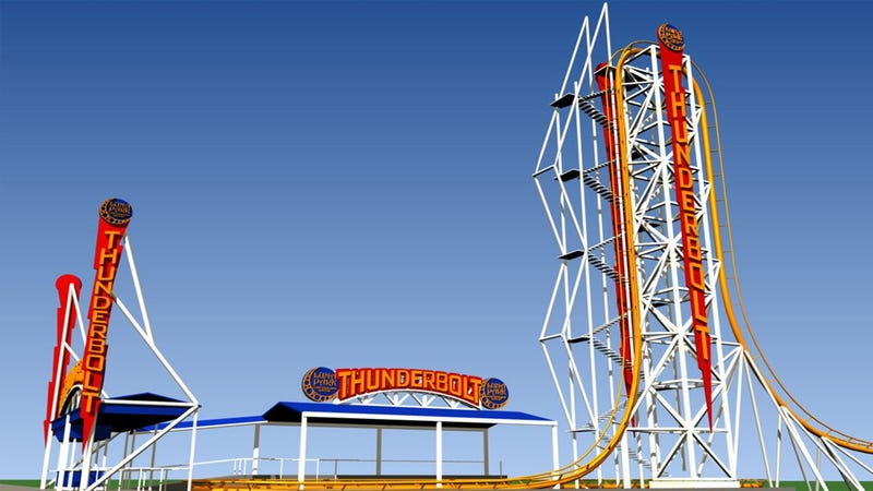 Illustration for article titled Coney Island Is Resurrecting a Legendary Coaster--With a New Twist