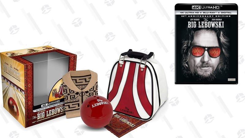 The Big Lebowski 20th Anniversary 4K/Blu-ray/Digital Limited Edition | $43 | Amazon