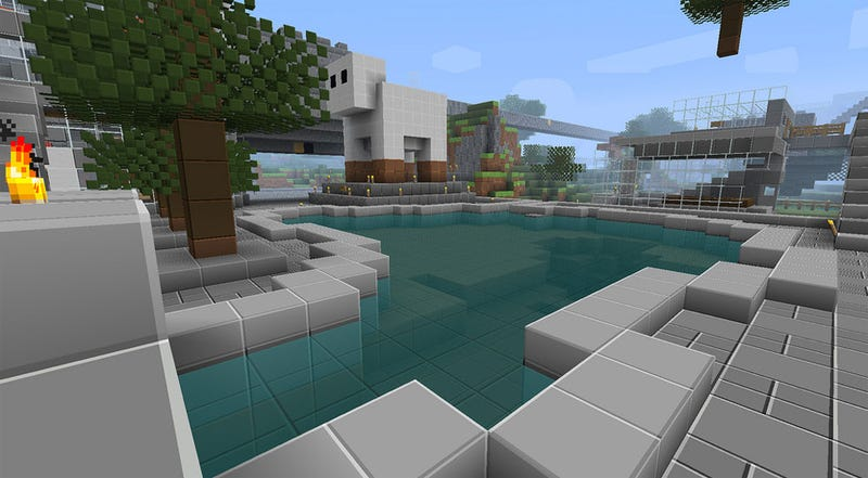 Illustration for article titled Minecraft Looks Good, But Let's Make it Look Better
