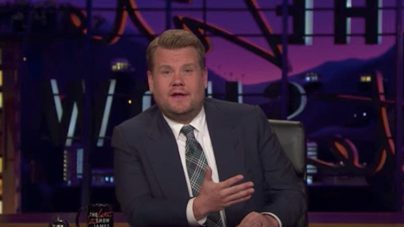 (Screenshot: The Late Late Show with James Corden/YouTube)