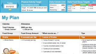 Supertracker Is A Personalized Food And Exercise Planner And Tracker
