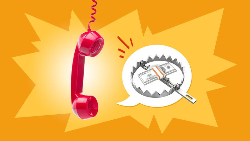 Illustration for article titled How to Identify and Avoid the Most Common Telephone Scams