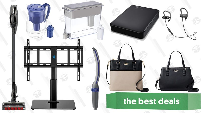 Illustration for article titled Friday's Best Deals: Anker SoundBuds, Kate Spade, Brita Pitchers, and More