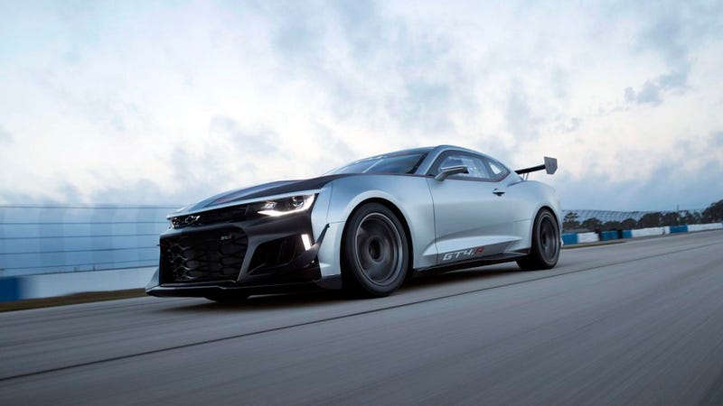Camaro Gt4r >> The Ultra Angry Chevrolet Camaro Gt4 R Race Car Is Now Available